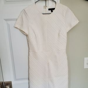 Banana Republic White Sheath Dress